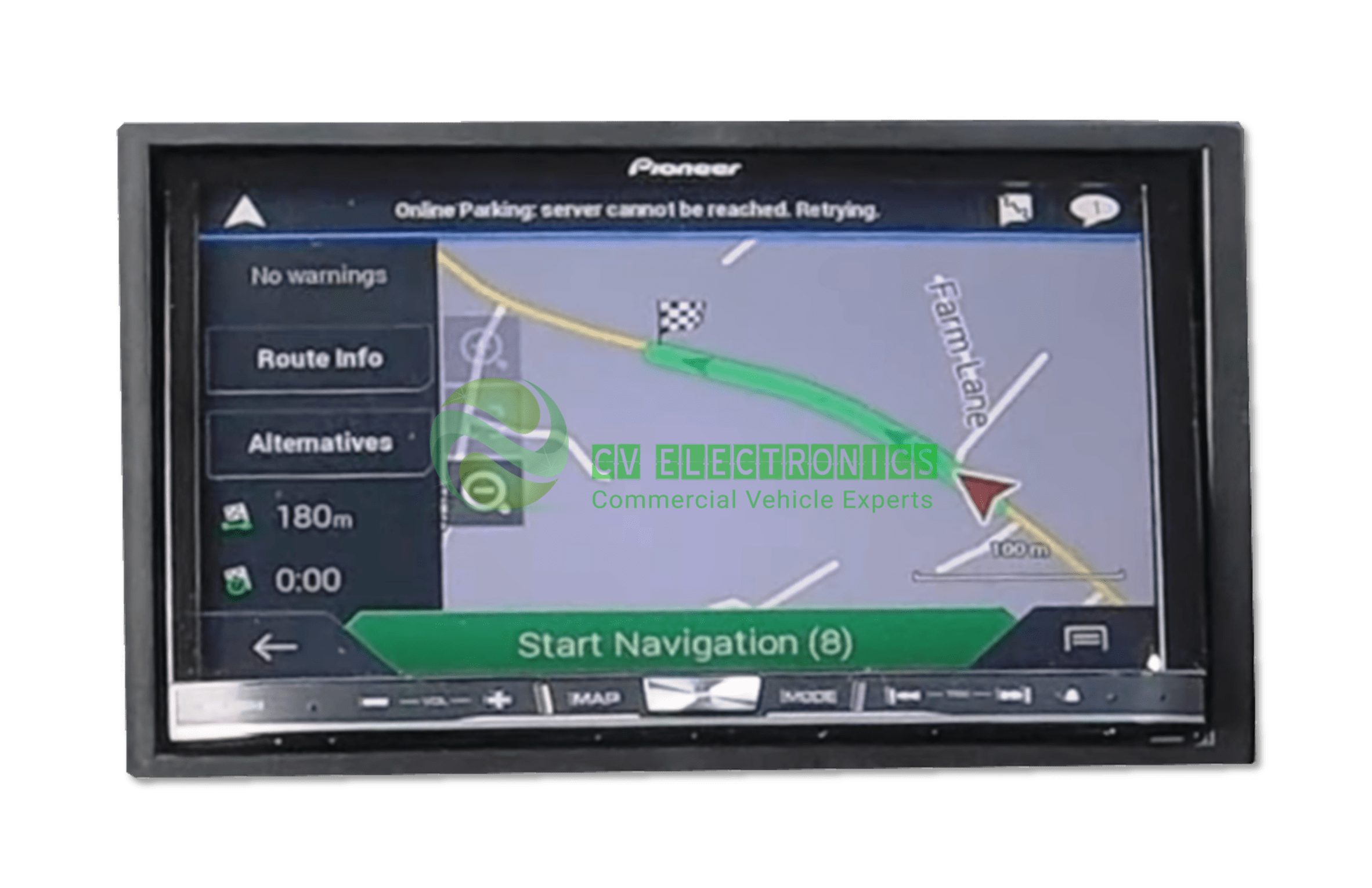 Isuzu D-Max Pioneer AVIC-F80DAB Navigation System repair
